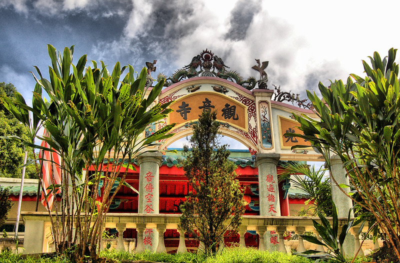 Templo Guan Yin Chinatown Kuala Lumpur Malasia