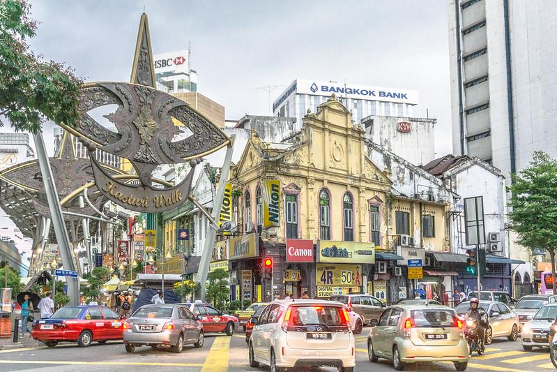 Mercado Kasturi Walk Chinatown Kuala Lumpur Malasia
