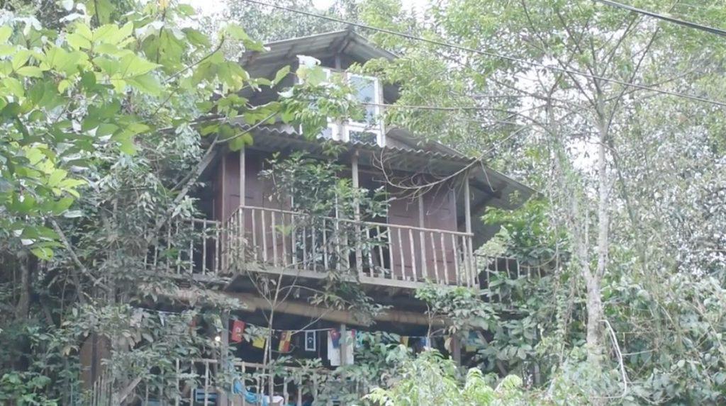 Casa Árbol Parque Rainforest Treehouse Kulai