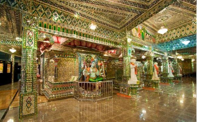 Templo de Cristal Arulmigu Sri Rajakaliamman Malasia Johor