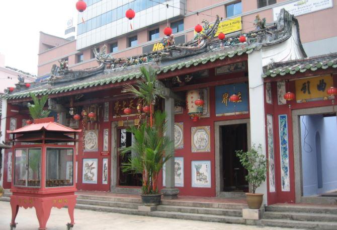 Templo Chino Johor Bahru Malasia