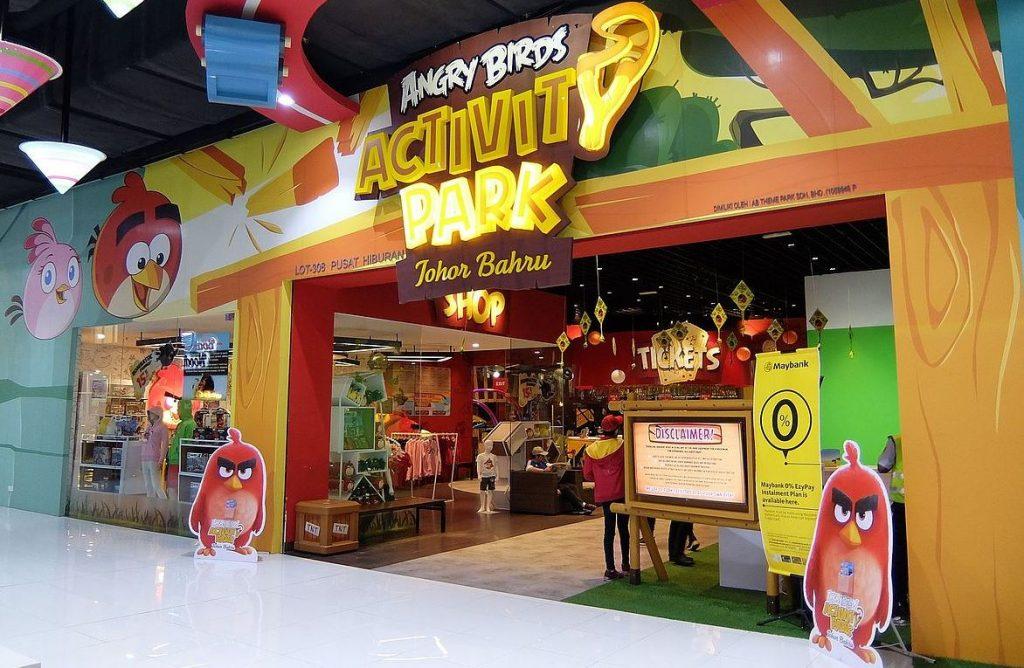 Parque temático Angry Birds Activity Park Malasia Johor Bahru
