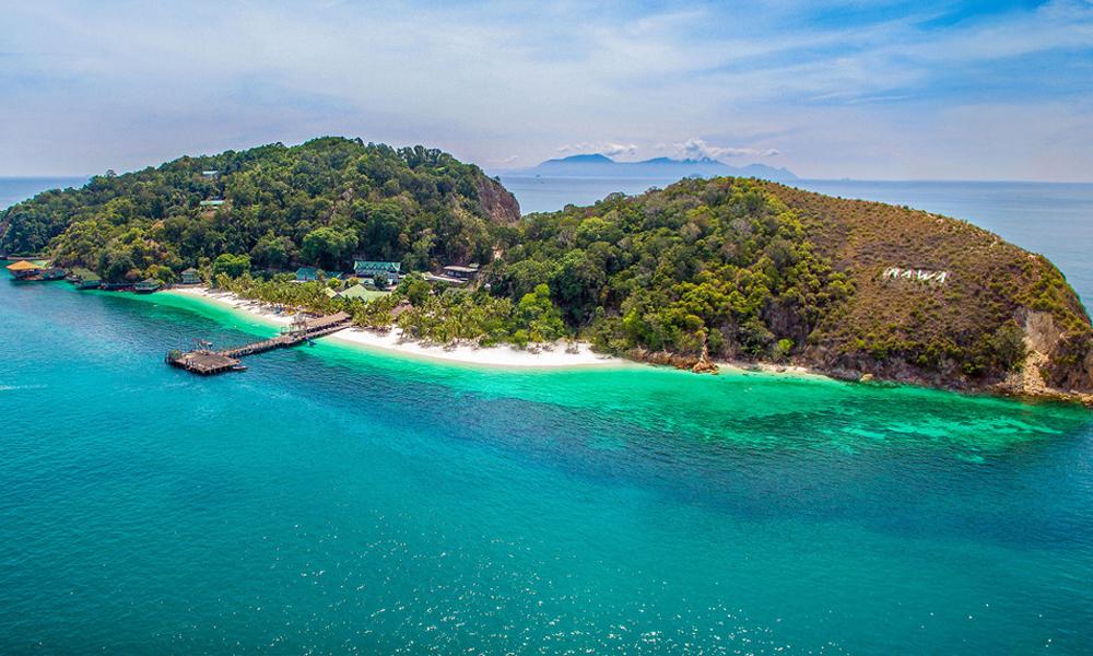 Isla Rawa Rawa Pulau Rawa Island