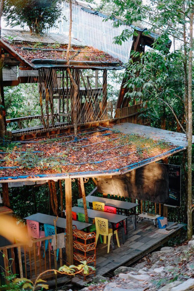 Escuela Rain Forest Tree House. Casa en Arbol en Malasia