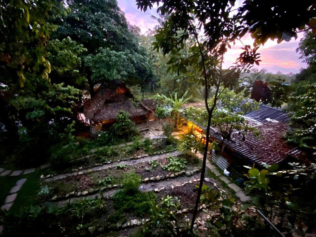 Huerto Rain Forest Tree House. Casa en los árboles en Malasia
