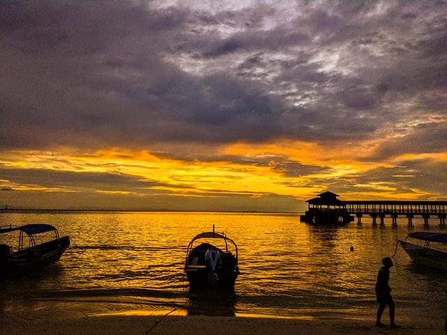 Atardecer Islas Pulau Perhentian